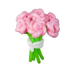 """Букет из шаров""""Розовые воздушные розы"""""""