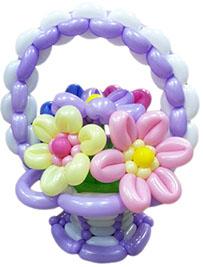 Корзинка с цветами №2