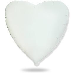 Сердечко белое