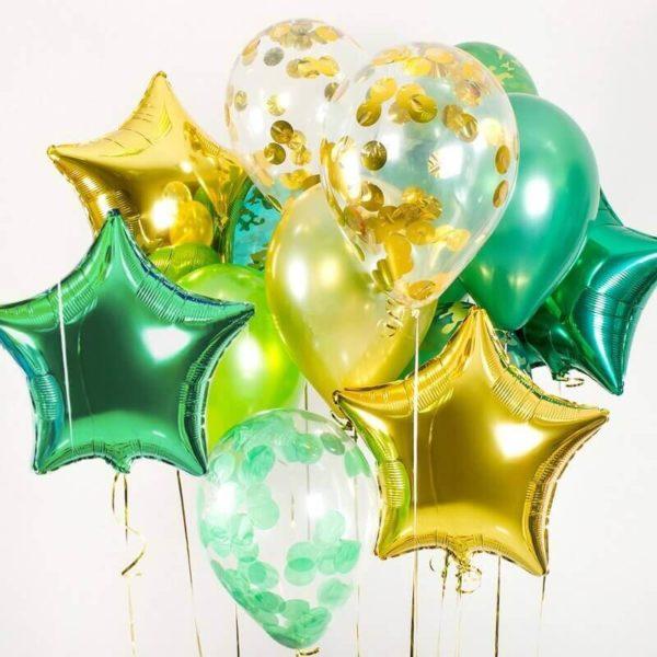 Букет №25 — из воздушных шаров с гелием