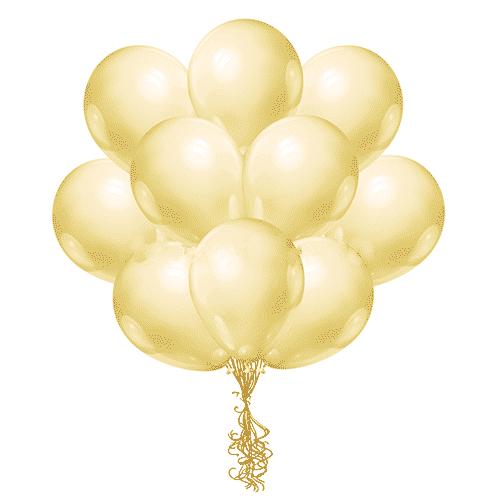 Латексные шары с гелием Слоновая кость
