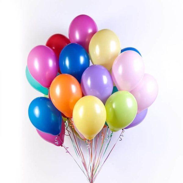 Латексные шары с гелием — Облако №3